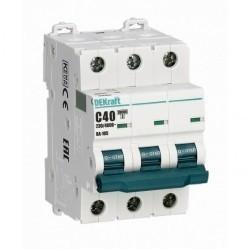 Автоматический выключатель Schneider Electric ВА-105 3P 1А (D) 10кА, 13220DEK