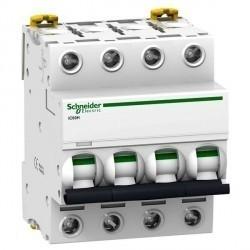 Автоматический выключатель Schneider Electric Acti9 4P 0,5А (D) 70кА, A9F85470
