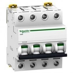 Автоматический выключатель Schneider Electric Acti9 4P 0,5А (B) 100кА, A9F93470