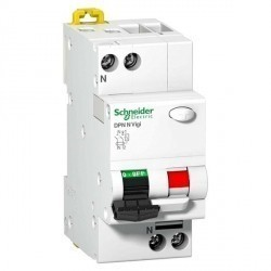Дифавтомат Schneider Electric Acti9 4P 16А (B) 0,25кА 30мА (AC), A9N19655