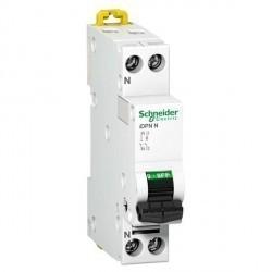 Автоматический выключатель Schneider Electric Acti9 1P+N 6А (C) 10кА, A9N21555