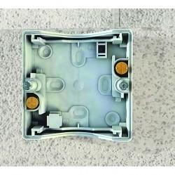 Mureva Коробка 1-ная адаптерная подъемная IP55, серая