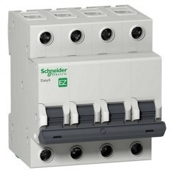 Автоматический выключатель Schneider Electric Easy9 4P 32А (B) 4,5кА, EZ9F14432