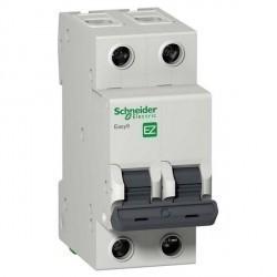 Автоматический выключатель Schneider Electric Easy9 2P 20А (C) 4,5кА, EZ9F34220