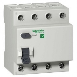 УЗО Schneider Electric Easy9 4P 40А 100мА (AC), EZ9R54440