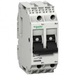 Автоматический выключатель Schneider Electric TeSys GB2 2P 10А () 1,5кА, GB2DB16