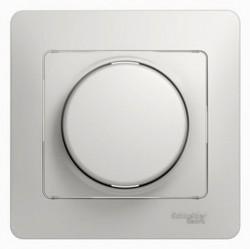 Светорегулятор поворотный Schneider Electric GLOSSA, 300 Вт, белый, GSL000134