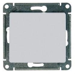 Выключатель 1-клавишный кнопочный Schneider Electric GLOSSA, скрытый монтаж, перламутр, GSL000615