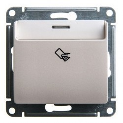 Карточный выключатель Schneider Electric GLOSSA, перламутр, GSL000669