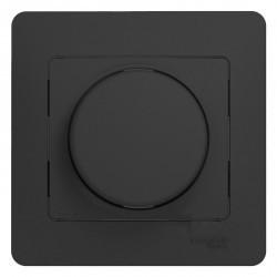 Светорегулятор поворотный Schneider Electric GLOSSA, 600 Вт, антрацит, GSL000736