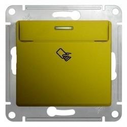 Карточный выключатель Schneider Electric GLOSSA, фисташковый, GSL001069