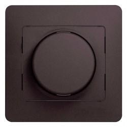 Светорегулятор поворотный Schneider Electric GLOSSA, 300 Вт, графит, GSL001334