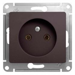 Розетка Schneider Electric GLOSSA, скрытый монтаж, графит, GSL001341