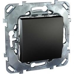 Выключатель 1-клавишный Schneider Electric UNICA TOP, скрытый монтаж, графит, MGU5.201.12ZD