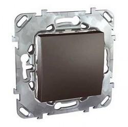 Переключатель 1-клавишный Schneider Electric UNICA TOP, скрытый монтаж, графит, MGU5.203.12ZD