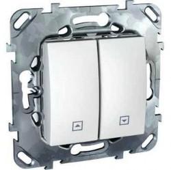 Выключатель для жалюзи Schneider Electric UNICA, белый, MGU5.208.18ZD