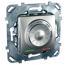 Термостат для теплого пола Schneider Electric UNICA TOP, алюминий, MGU5.501.30ZD
