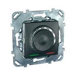 Термостат для теплого пола Schneider Electric UNICA TOP, с датчиком, графит, MGU5.503.12ZD
