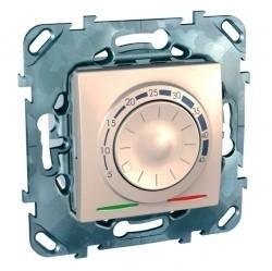 Термостат для теплого пола Schneider Electric UNICA, с датчиком, бежевый, MGU5.503.25ZD