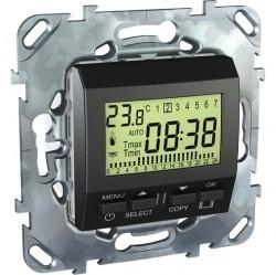 Термостат для теплого пола Schneider Electric UNICA TOP, графит, MGU5.505.12ZD