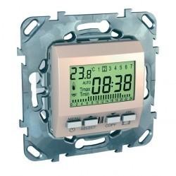 Термостат для теплого пола Schneider Electric UNICA, бежевый, MGU5.505.25ZD
