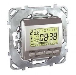 Термостат для теплого пола Schneider Electric UNICA TOP, алюминий, MGU5.505.30ZD