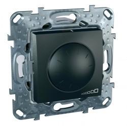 Светорегулятор поворотный Schneider Electric UNICA TOP, 600 Вт, графит, MGU5.512.12ZD