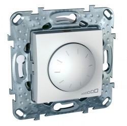Светорегулятор поворотный Schneider Electric UNICA, 600 Вт, белый, MGU5.512.18ZD