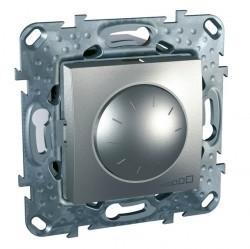Светорегулятор поворотный Schneider Electric UNICA TOP, 600 Вт, алюминий, MGU5.512.30ZD