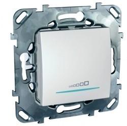 Светорегулятор клавишный Schneider Electric UNICA, 600 Вт, белый, MGU5.515.18ZD