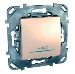 Светорегулятор клавишный Schneider Electric UNICA, 600 Вт, бежевый, MGU5.515.25ZD