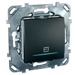 Таймер нажимной Schneider Electric UNICA TOP, электронный, графит, MGU5.535.12ZD