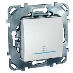Таймер нажимной Schneider Electric UNICA, электронный, белый, MGU5.535.18ZD
