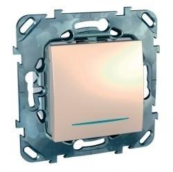 Таймер нажимной Schneider Electric UNICA, электронный, бежевый, MGU5.535.25ZD