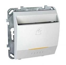 Карточный выключатель Schneider Electric UNICA, механический, белый, MGU5.540.18ZD