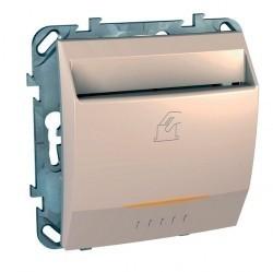 Карточный выключатель Schneider Electric UNICA, механический, бежевый, MGU5.540.25ZD