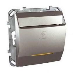 Карточный выключатель Schneider Electric UNICA TOP, механический, алюминий, MGU5.540.30ZD