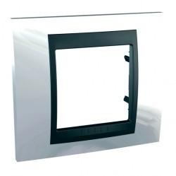 Рамка 1 пост Schneider Electric UNICA TOP, нордик, MGU66.002.292