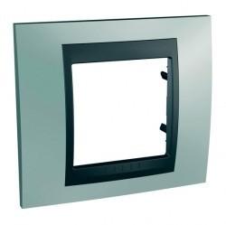 Рамка 1 пост Schneider Electric UNICA TOP, флюорит, MGU66.002.294