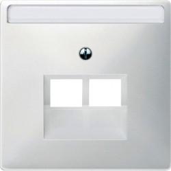Накладка на розетку информационную Schneider Electric MERTEN SYSTEM DESIGN, полярно-белый, MTN292619
