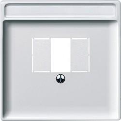 Накладка на розетку USB Schneider Electric MERTEN SYSTEM DESIGN, полярно-белый, MTN297819