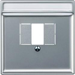 Накладка на розетку USB Schneider Electric MERTEN SYSTEM DESIGN, алюминий, MTN297860