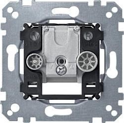 Механизм розетки TV-FM Schneider Electric коллекции Merten, оконечная, MTN299203