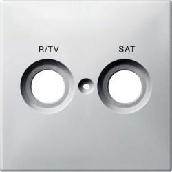 Накладка на розетку телевизионную Schneider Electric MERTEN SYSTEM DESIGN, полярно-белый, MTN299619