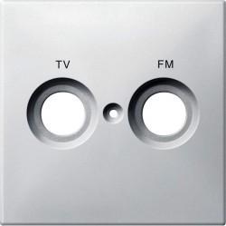 Накладка на розетку телевизионную Schneider Electric MERTEN SYSTEM DESIGN, полярно-белый, MTN299719