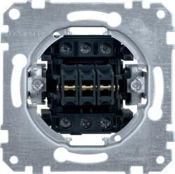 Механизм выключателя 3-клавишного Schneider Electric Коллекции Merten, скрытый монтаж, MTN311900