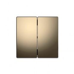 Клавиша двойная Schneider Electric MERTEN D-LIFE, никель, MTN3400-6050
