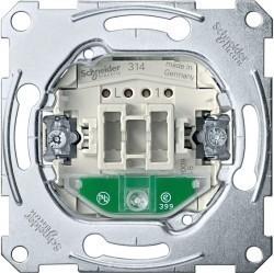 Механизм переключателя 1-клавишного Schneider Electric Коллекции Merten, с подсветкой, скрытый монтаж, MTN3606-0000