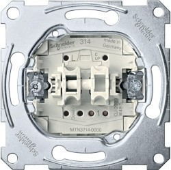 Механизм выключателя для жалюзи Schneider Electric Коллекции Merten, MTN3714-0000