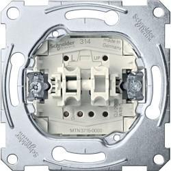 Механизм выключателя для жалюзи Schneider Electric Коллекции Merten, MTN3715-0000